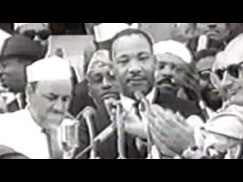 Rare recording of MLK talking about JFK