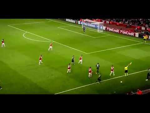 Mathieu Flamini vs Napoli