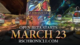 Chronicle: RuneScape Legends - Open Beta Trailer