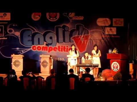 English Competition 2013 Finals - NguyetMinh-KieuOanh-BaoChau