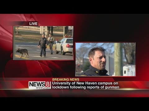 Police give update on UNH gun alert