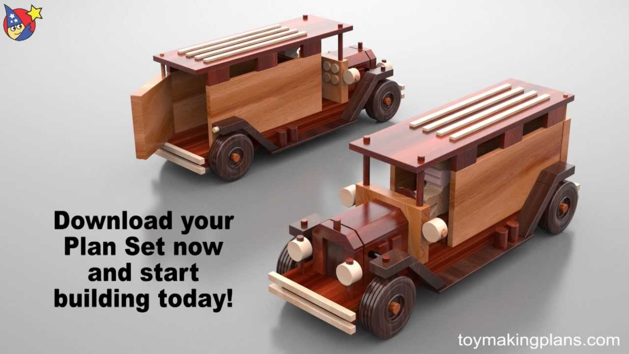 Toy Car Plans : Vintage wooden toy plans sinpa