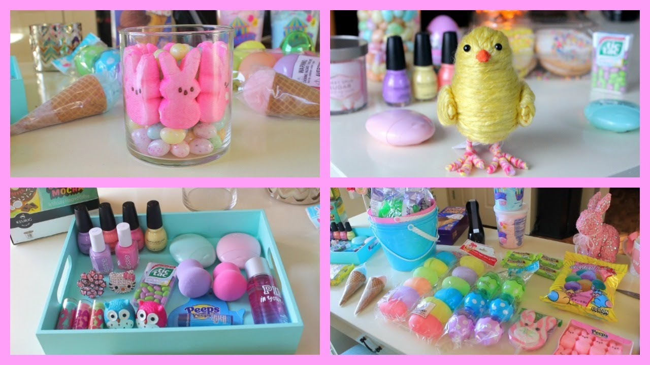 Easter decorations easter gift ideas youtube - Easter basket decorating ideas ...