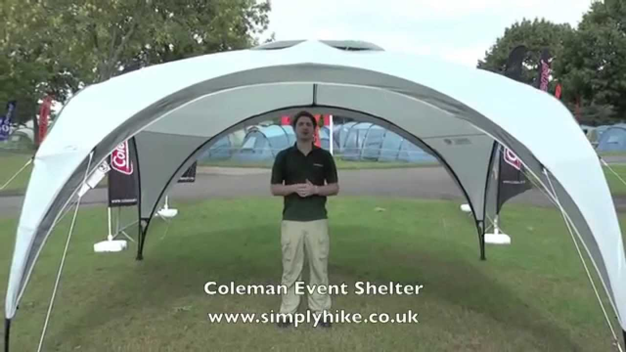 Coleman Event Shelter Www Simplyhike Co Uk Youtube