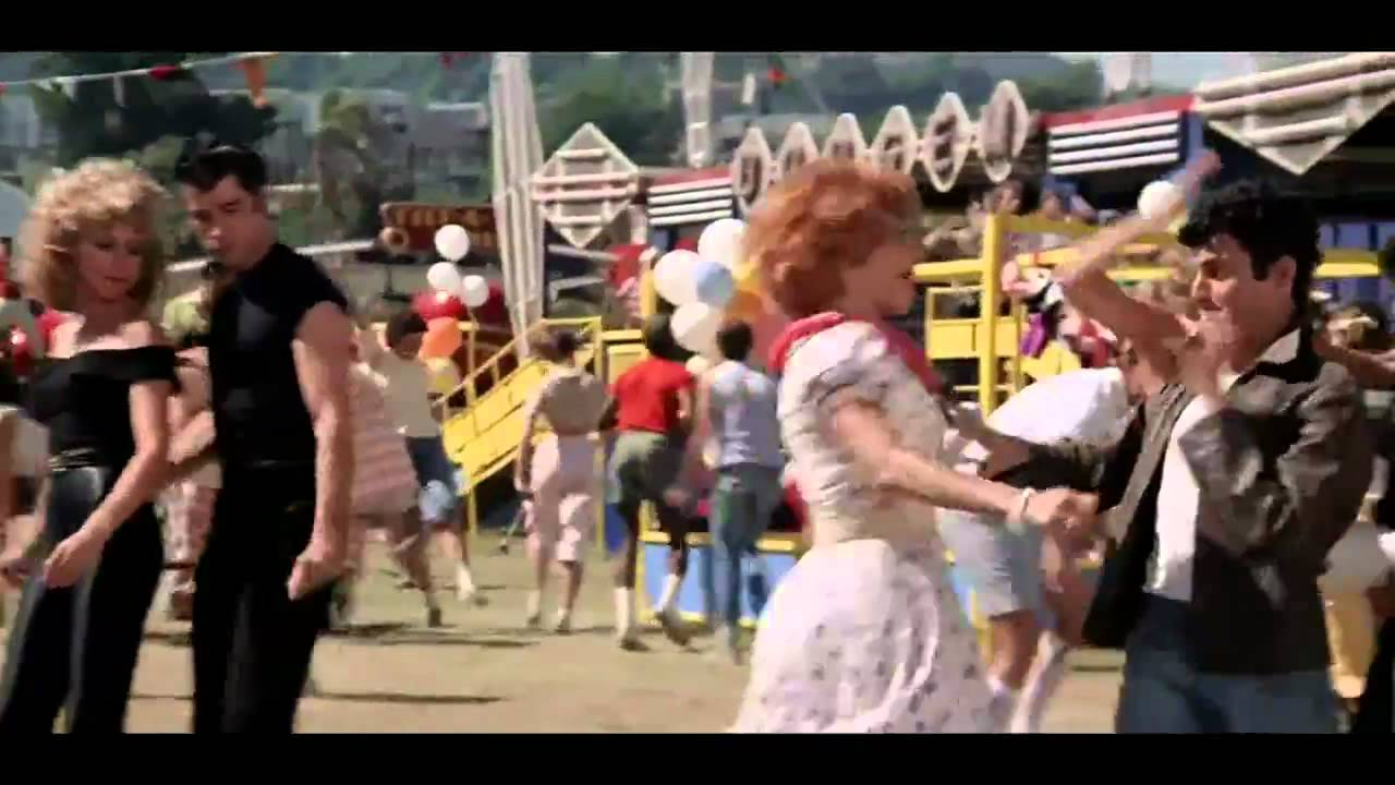 grease we go together musique video youtube