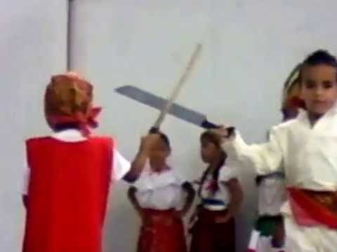 Bailes infantiles tipicos de mexico. / Typical dances infant mexico