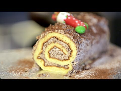 How to make Yule Log - UKLifestyler 2013 Christmas special