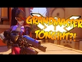 GRANDMASTERS IN ONE NIGHT Overwatch Ranked Gameplay