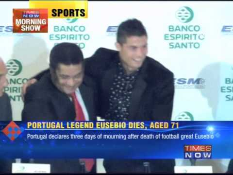Portugal legend Eusebio dies