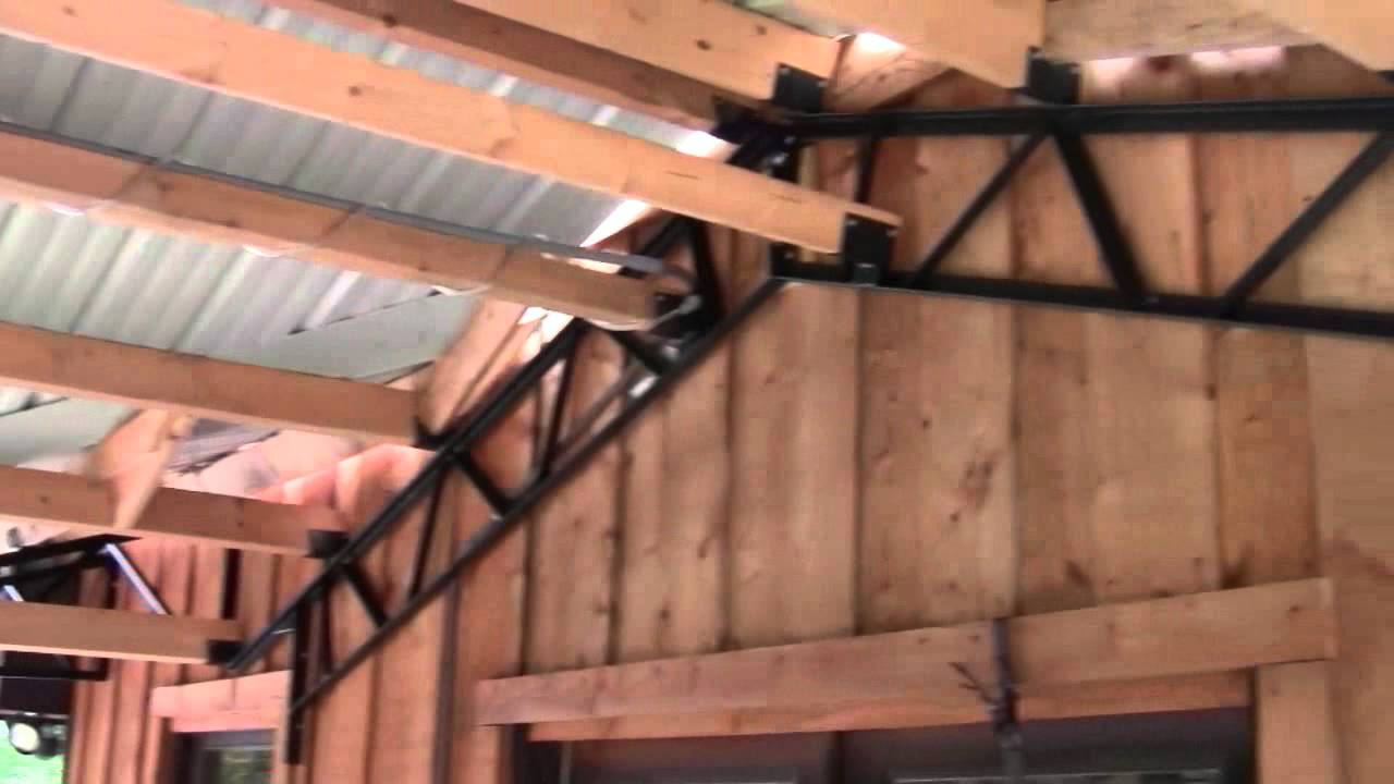 Pole Barn Kits Quot Steel Trusses Quot And Carports Youtube