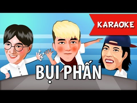 BỤI PHẤN Karaoke - Nhạc thiếu nhi hay nhất