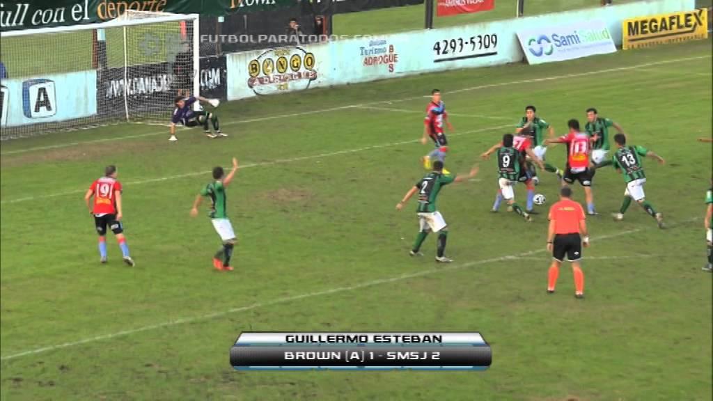 CA Brown Adrogue 1-2 San Martin San Juan