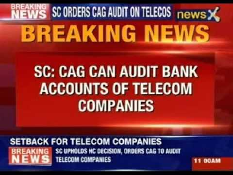 SC orders CAG audit on telecos