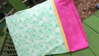 Como hacer una funda de almohada