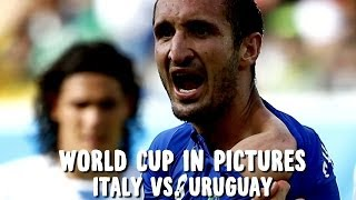 World Cup In Pictures: Uruguay Advance, But Victory Marred