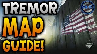 "GHOSTS Map Guide ""TREMOR""! Best Spots & Map Tips"