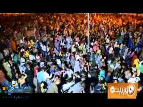 الحضور الجماهيري بمهرجان قوافل2013