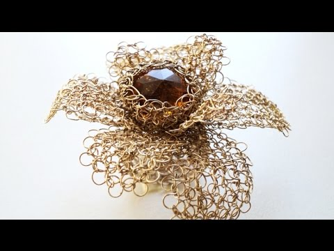 How to Wire Crochet, DIY Crochet Jewelry Wire