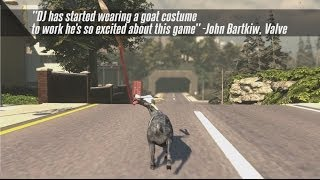 Goat Simulator Coming To Steam! Pre-Order Trailer