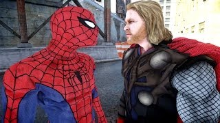 Spiderman Vs Thor EPIC Spider Man