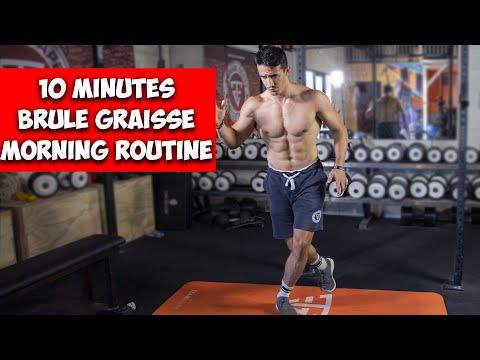 Morning routine brûle graisse en 10 minutes !
