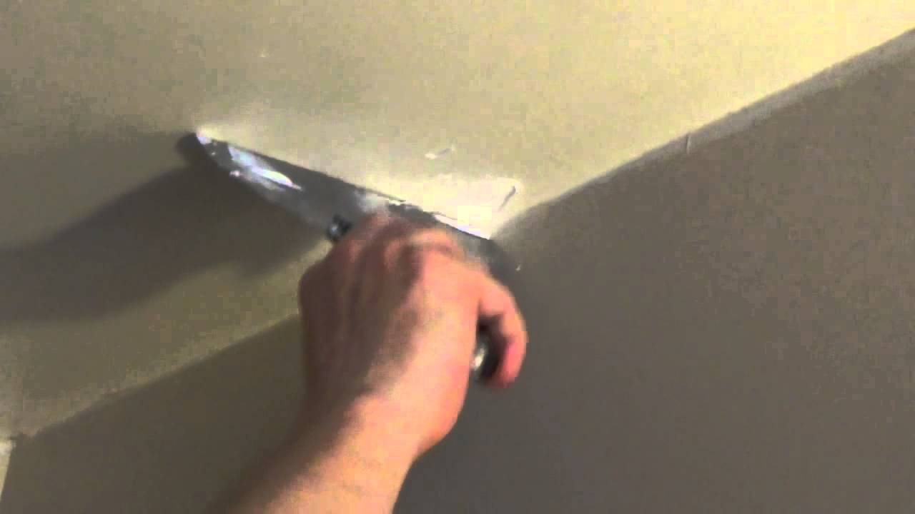 How To Patch A Hole In The Ceiling Fix It Small Hole In