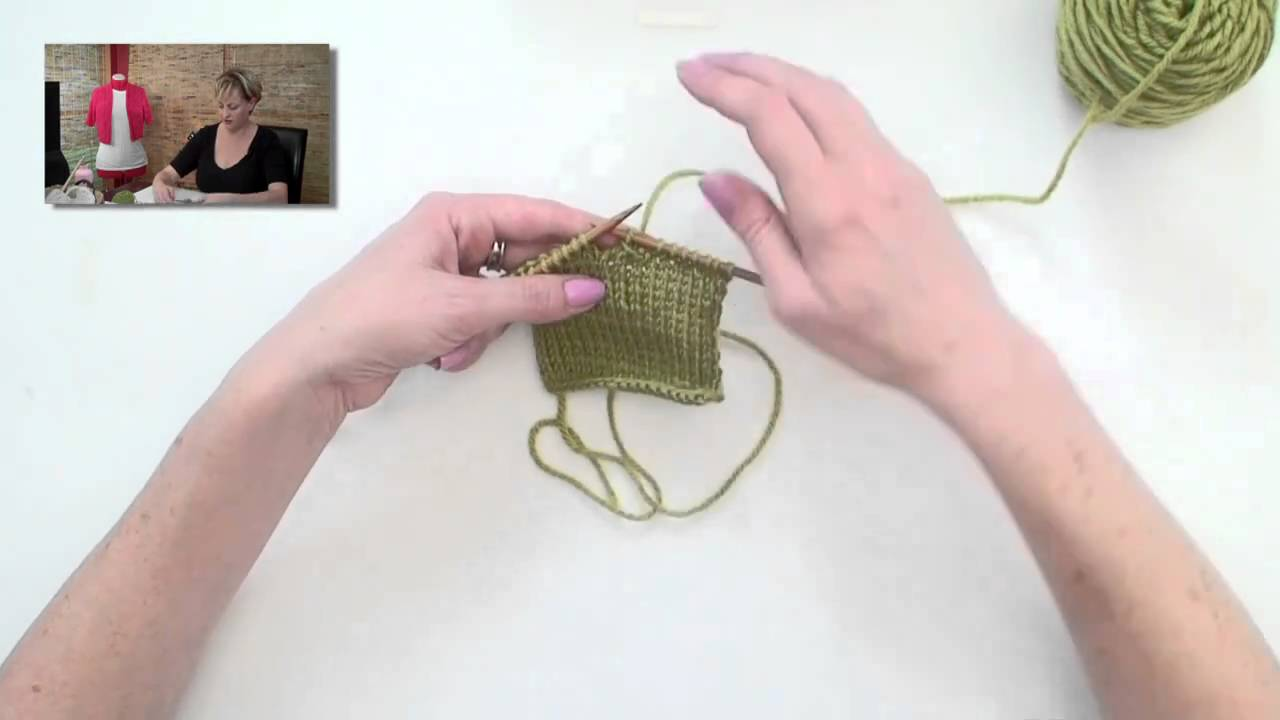 how to add a buttonhole in knitting