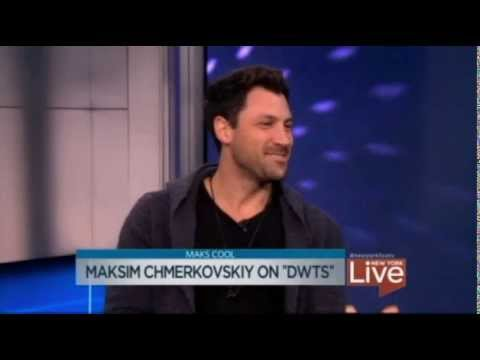 Maksim Chmerkovskiy Stops By New York Live