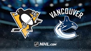 Boeser's hatty leads Canucks past Penguins, 4-2