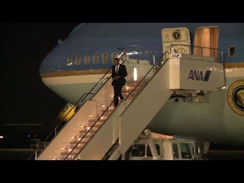 Obama à Tokyo, début de sa tournée en Asie