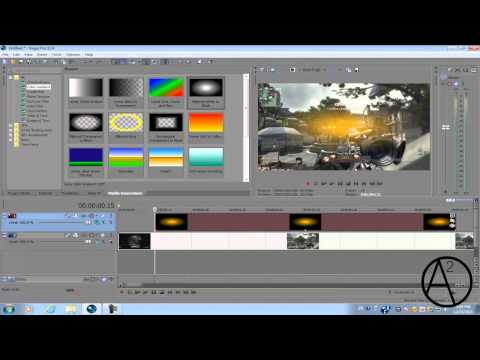Sony Vegas Pro 11: Optical Flare/ Knoll Light Factory Light