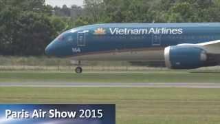 Paris Air Show 2015 Dream Display: A Boeing test pilot's perspective