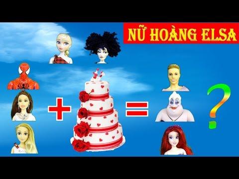 Đồ chơi trẻ em - búp bê baby doll - Chibi và cuộc chiến bánh ngọt trong tiệm của Mother Gothel tập 3