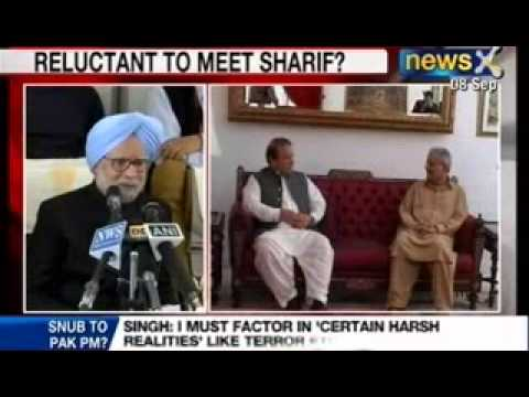 NewsX: Manmohan Singh - Nawaz Sharif were expected to meet on sidelines of UN General Assemly Meet