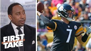Stephen A. holds out hope for Pittsburgh Steelers after win over Atlanta Falcons   First Take