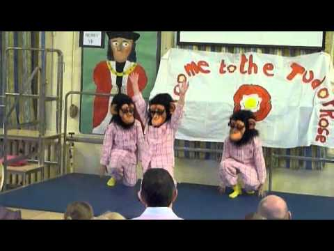 Cheeky Monkeys - The Lazy Song