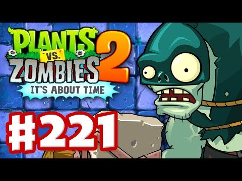 Plants vs. Zombies 2: It's About Time - Gameplay Walkthrough Part 221 - Dark Ages Gargantuars! (iOS)