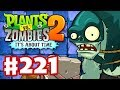 Plants vs. Zombies 2: It's About Time - Gameplay Walkthrough Part 221 - Dark Ages Gargantuars! (iOS)