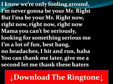 Pitbull- Mr. Right Now Lyrics (Feat. Akon) | Pitbull
