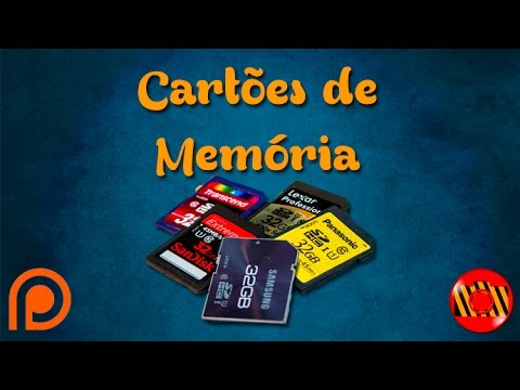 Diferença entre os Cartões de memória