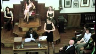 This House Would Not Get Married, The Cambridge Union Society
