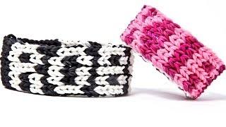 Rainbow Loom Five Row Name Bracelet 1 LOOM No Transfers