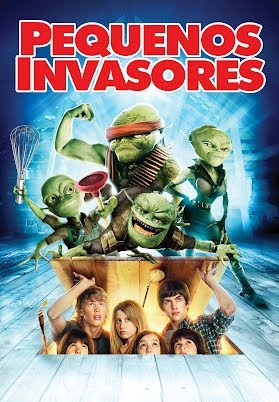 Pequeños invasores  (Aliens in the Attic) ()