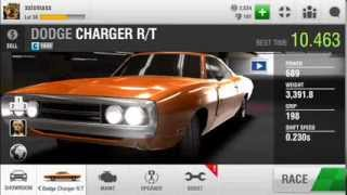 Racing Rivals IOS Cars Dodge Charger R/T Turbo Under 11s