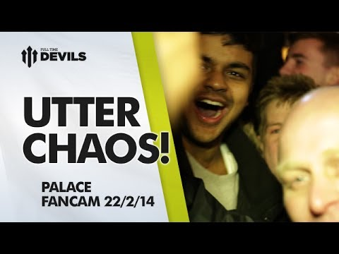 Utter Chaos! | Crystal Palace 0-2 Manchester United | FANCAM