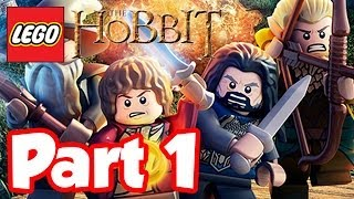 LEGO Hobbit Part 1 DRAGONS ARE AWESOME!! Lego Hobbit