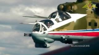 100 Years Of Russian Air Force / 100 Лет ВВС России  HD  2012