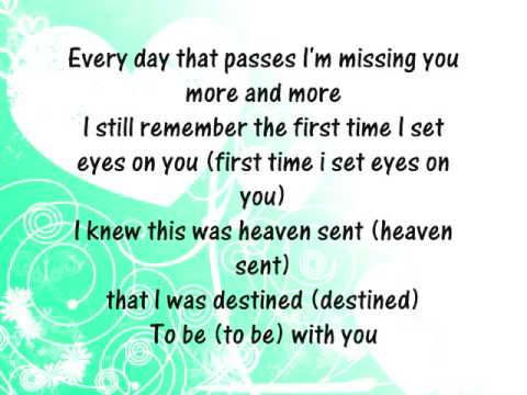 1ST LADY - MISSING YOU LYRICS - SongLyrics.com