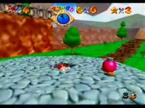 Super Mario 64 - GAMEPLAY - Nintendo 64