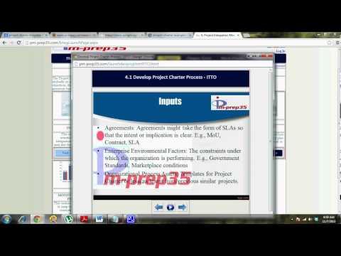 pm-prep35.com - Develop Project Charter - Part 4 of 6